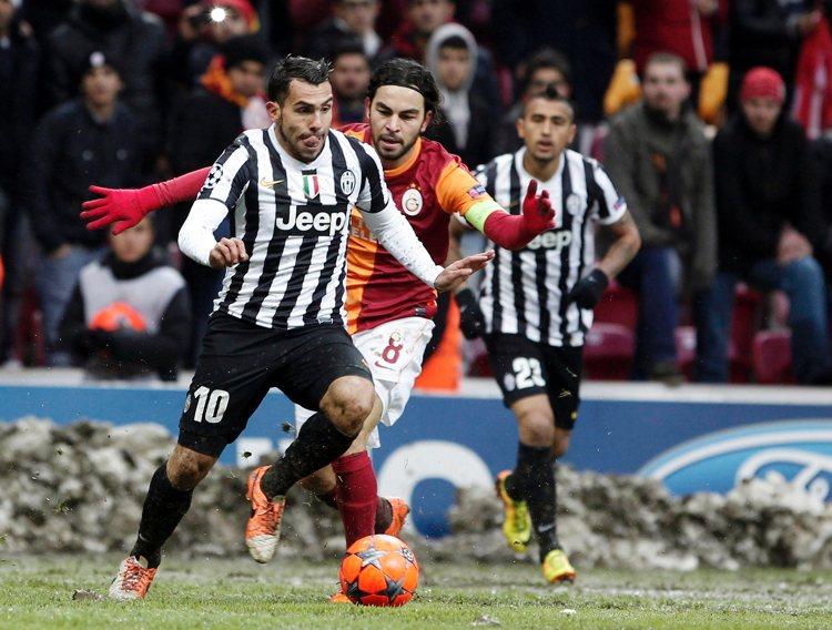 La Juventus di Carlos Tevez (foto di l3o_ via Flickr)
