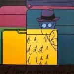 """""""Sigmund Freud in viaggio verso Londra"""", del 1973"""