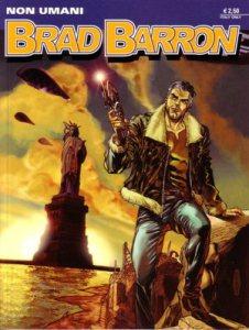 La copertina del primo numero di Brad Barron