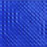 Un'altra opera di Castellani, questa volta su tela blu