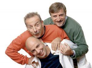 Aldo, Giovanni e Giacomo, probabilmente i comici di Zelig che hanno avuto maggior successo