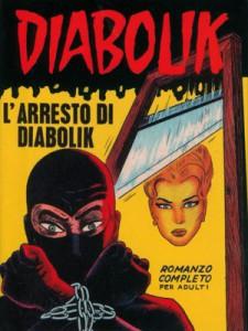 Diabolik 3 - L'arresto di Diabolik, il primo disegnato da Luigi Marchesi