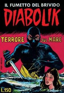 Diabolik 7 - Terrore sul mare