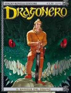La copertina del primo numero di Dragonero, la migliore serie lanciata dalla Bonelli negli ultimi dieci anni secondo i nostri lettori