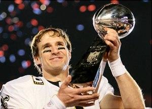 Drew Brees, il quarterback più pagato dell'NFL
