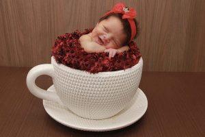 Dormire dentro a una specie di tazza