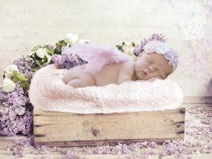 Neonato addormentato