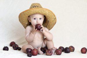 Un bimbo contadino