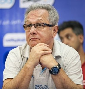 Julio Velasco nel 2016 (foto di Hamed Malekpour per Tasnim News Agency)