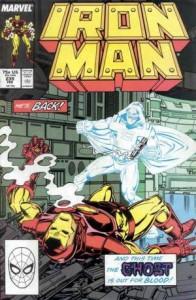Il Fantasma sulla copertina di un albo di Iron Man