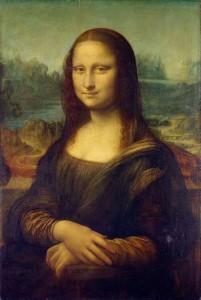 La Gioconda di Leonardo da Vinci, conservata al Louvre