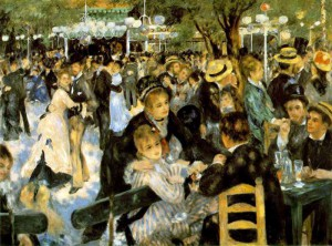 Bal au moulin de la Galette di Renoir, conservato al Museo d'Orsay