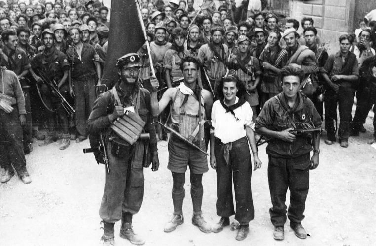 Popolare Cinque famosi comandanti partigiani - Cinque cose belle IS75