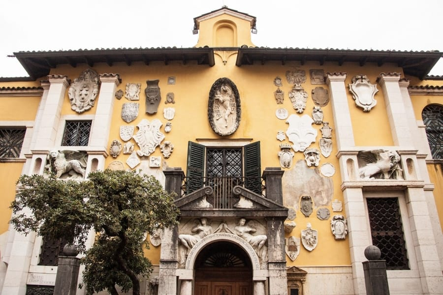 Il Vittoriale di Gabriele D'Annunzio a Gardone Riviera