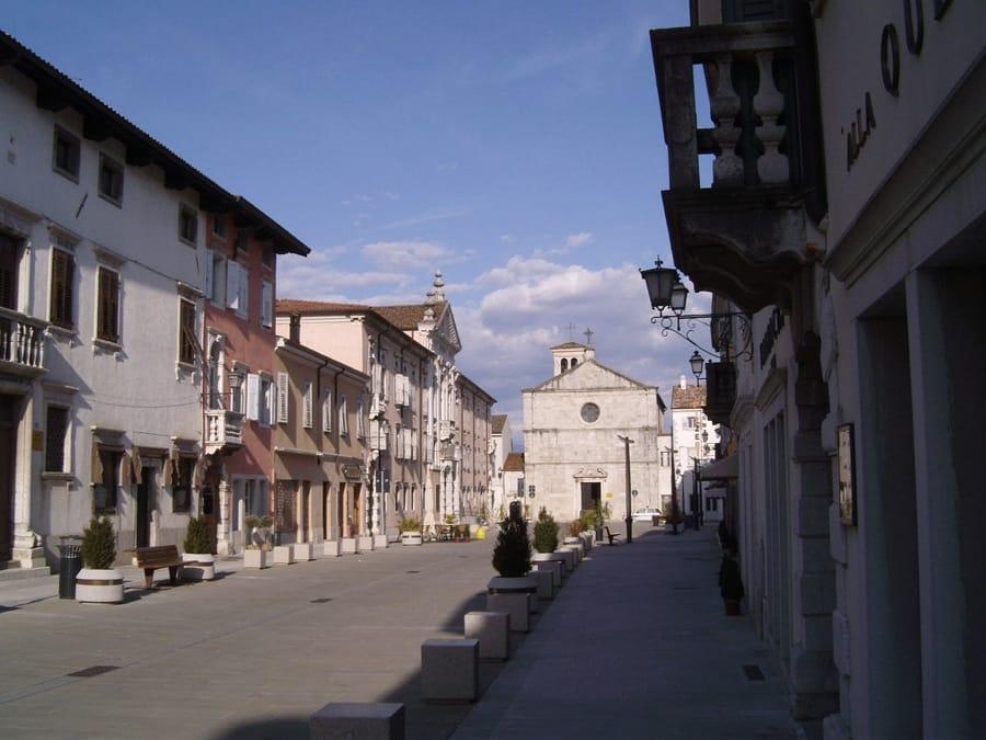 Gradisca d'Isonzo (foto di Elisafranco via Wikimedia Commons)