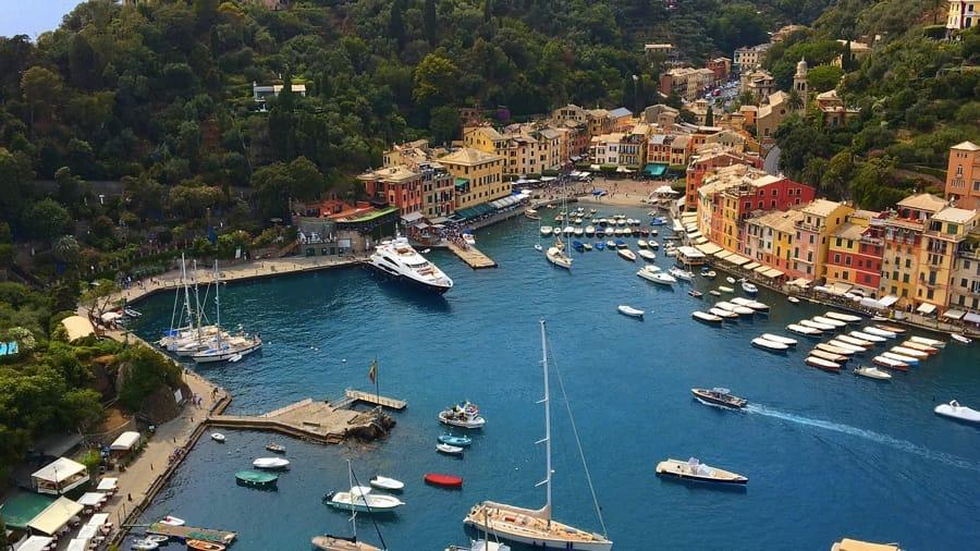 Portofino vista dall'alto