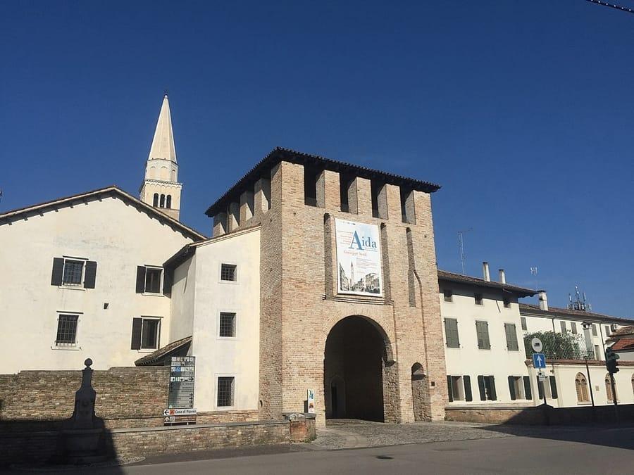 La Torre Scaramuccia a San Vito al Tagliamento