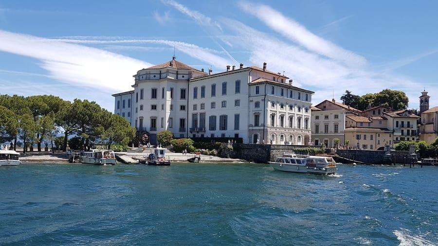 Il Palazzo Borromeo sull'Isola Bella, a Stresa
