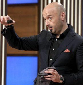 Joe Bastianich, uno dei giudici di MasterChef Italia