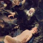 Sacrificio di Isacco di Rembrandt