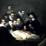 Lezione di anatomia del dottor Tulp di Rembrandt, uno dei più grandi pittori fiamminghi e olandesi del '600