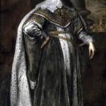 Ritratto di Carlo I in abiti regali di Van Dyck