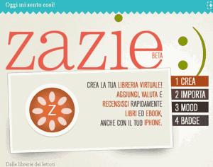 Zazie, made in Italy