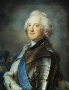 Re Adolfo Federico di Svezia