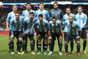 Una formazione dell'Argentina