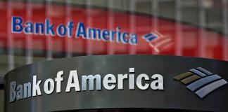 Il logo della Bank of America