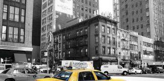 Un taxi giallo a New York
