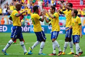 Il Brasile è forse la prima tra le squadre favorite ai Mondiali del 2014
