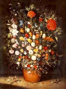 Vaso di fiori di Jan Brueghel il Vecchio