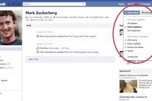 Il feed di Facebook