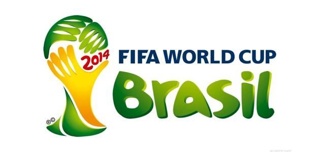 Il logo dei Mondiali di calcio del Brasile