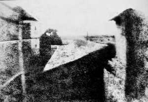 Vista dalla finestra a Le Gras, la più antica fotografia oggi conservata