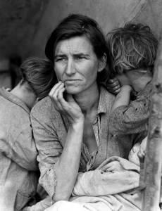 Madre migrante di Dorothea Lange, una delle foto che hanno fatto la storia del Novecento