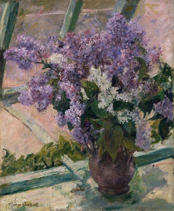 Mary Cassatt - Lillà in una finestra (1880-1883)