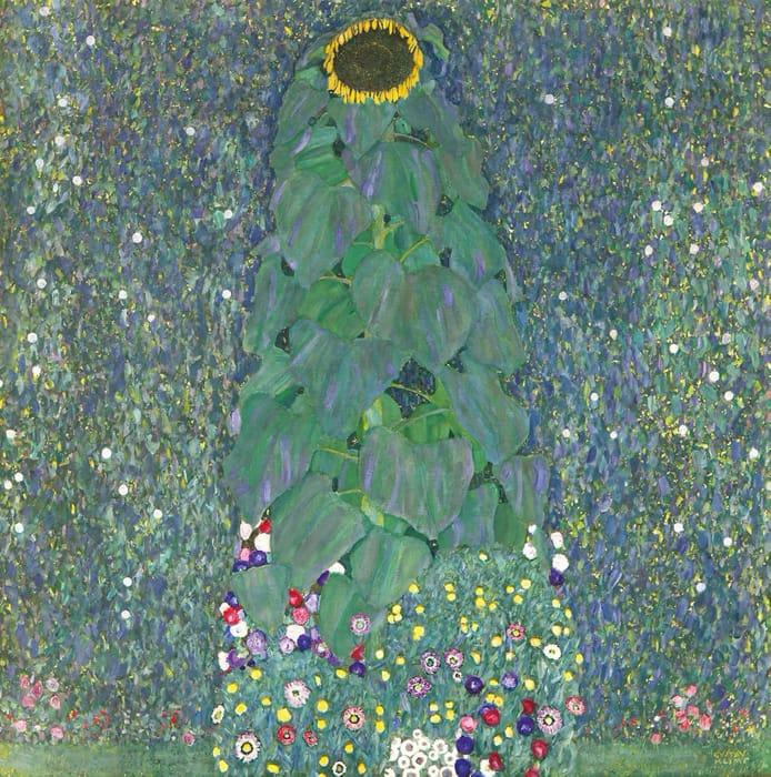 Gustav Klimt - Girasole (1907)
