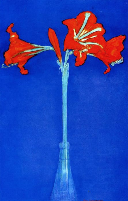 Piet Mondrian - Amarillide (1910)