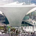 Il Boulevard dell'Expo a Shanghai
