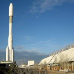 Il razzo Ariane 4 a Siviglia