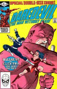 La copertina del n.181 di Daredevil