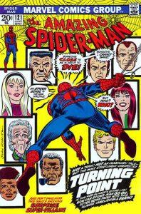 La copertina di Amazing Spider-Man 121, una delle storie della Marvel più memorabili