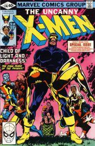 La copertina di Uncanny X-Men 136