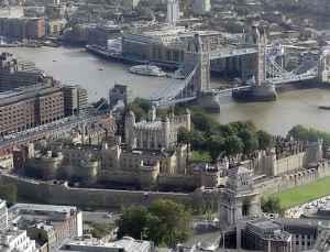 La Torre di Londra e il Tower Bridge