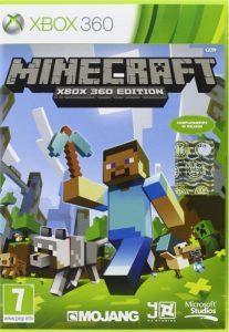 La copertina di Minecraft nella versione per la Xbox 360