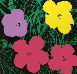 Fiori di Andy Warhol