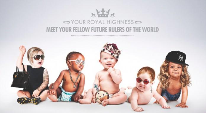 La divertente immagine realizzata dal tabloid Sun per festeggiare la nascita del Royal Baby
