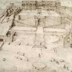 Il progetto di Bramante per i Giardini del Belvedere